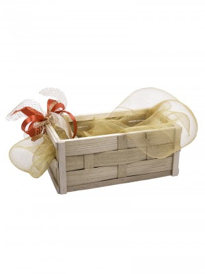 Poklon pakovanje - Gajbica pletena