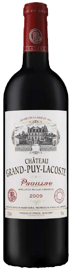 Chateau Grand Puy Lacoste 2009 - Pauillac