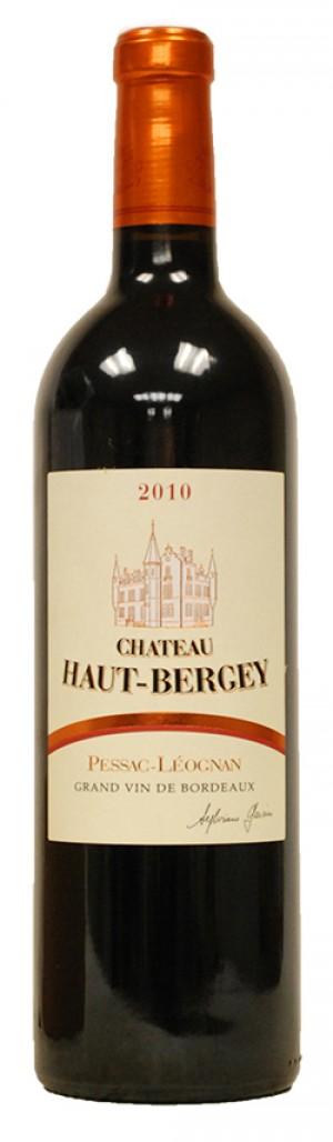 Chateau Haut Bergey Rouge 2010 - Pessac Leognan