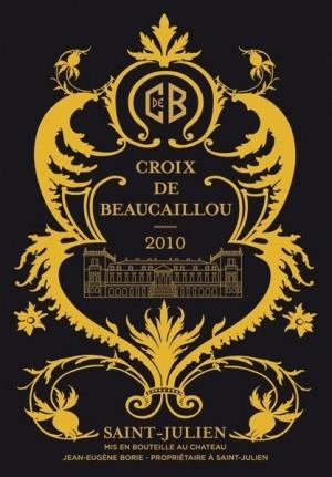 Chateau Ducru Beaucaillou - La Croix De Beaucaillou 2010 - St.Julien 1.5L