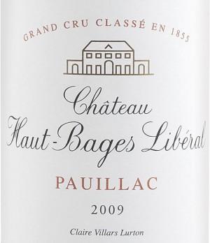 Chateau Haut Bages Liberal 2009 - Pauillac 1.5L