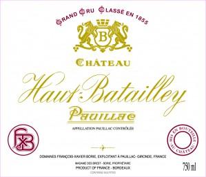 Chateau Haut Batailley 2012 - Pauillac 1.5L