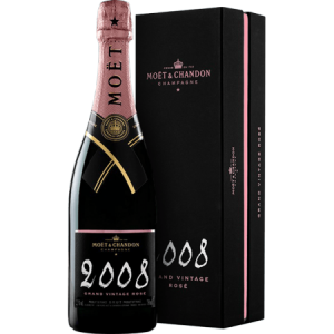Moet&Chandon Rose Grand Vintage 2008 Gift Box
