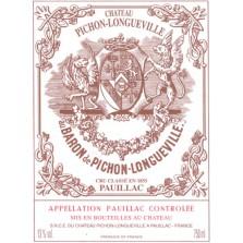 Chateau Pichon Longueville Baron 2012 - Pauillac 1.5L