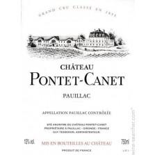 Chateau Pontet Canet 2012 - Pauillac 1.5L