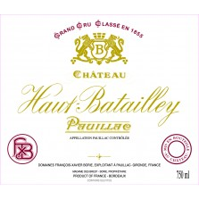 Chateau Haut Batailly 2012 - Pauillac 1.5L