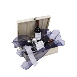 Poklon pakovanje - Kovčeg za 3 boce (Sibirski bor)