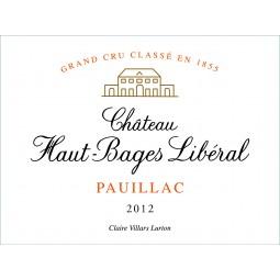 Chateau Haut Bages Liberal 2012 - Pauillac 1.5L