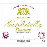 Chateau Haut Batailly 2010 - Pauillac 1.5L