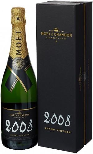 Moet&Chandon Brut Grand Vintage 2008 Gift Box